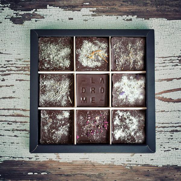 Chocolatiers d'art et Cie Coffret Plantes du Vercors