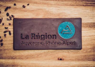 Chocolatiers d'art et Cie logo région AURA