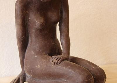 Sculpture artistique chocolat Sirène