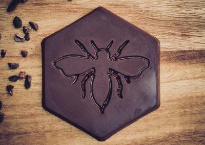 Chocolatiers d'art et Cie logo Abeille