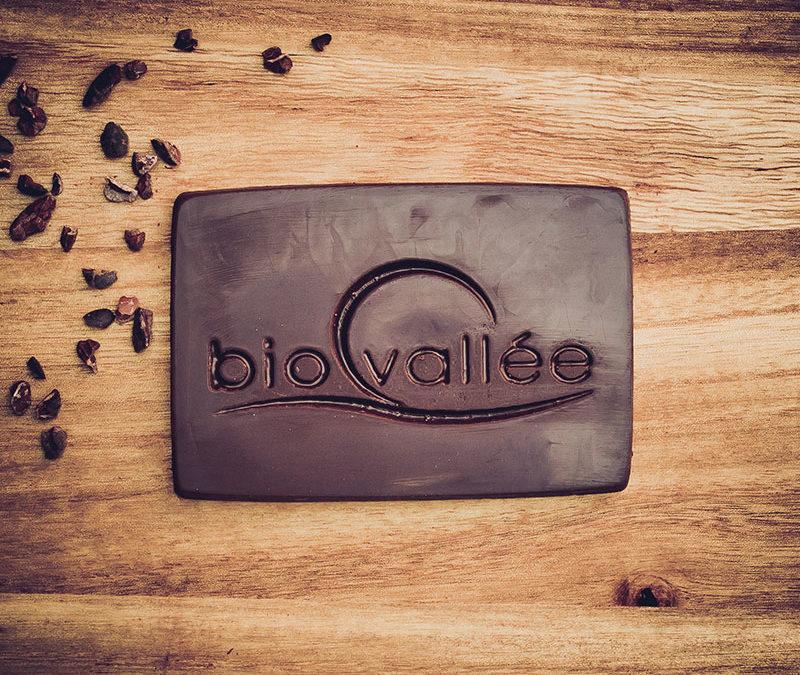 Chocolatiers d'art et Cie logo Biovallée