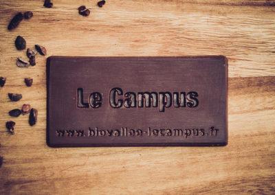 Chocolatiers d'art et Cie logo Le Campus Biovallée