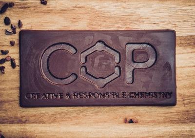 Chocolatiers d'art et Cie logo C.O.P