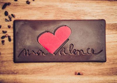 Chocolatiers d'art et Cie logo Mon Valence