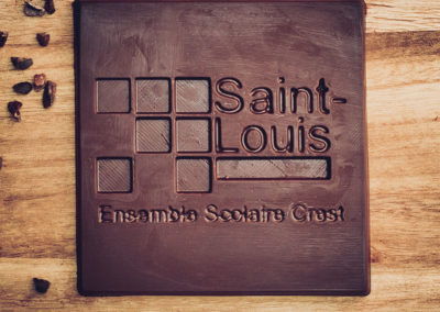 Chocolatiers d'art et Cie logo Saint Louis