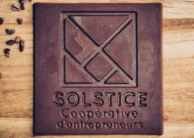 Chocolatiers d'art et Cie logo Solstice